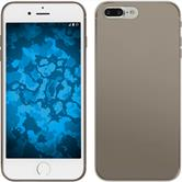 Silicone Case for Apple iPhone 7 Plus Slimcase gray