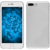 Silicone Case iPhone 8 Plus transparent Crystal Clear + protective foils