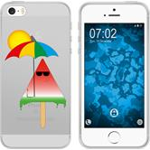 Apple iPhone 5 / 5s / SE Silicone Case summer M6
