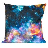 cosey cushion cover 45x45, cushion cover with motif for decorative cushion, sofa cushion - different motifs Polyester D11 Galaxy Multicoloured