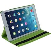 Artificial Leather Case for Apple iPad Air 360° green