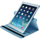 Artificial Leather Case for Apple iPad Air 360° light blue