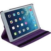 Artificial Leather Case for Apple iPad Air 360° purple