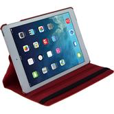 Artificial Leather Case for Apple iPad Air 360° red