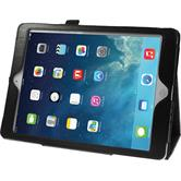 Artificial Leather Case for Apple iPad Air Wallet black