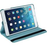 Artificial Leather Case for Apple iPad Mini 3 2 1 360° light blue + protective foils