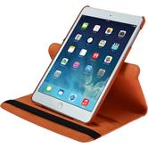 Artificial Leather Case for Apple iPad Mini 3 2 1 360° orange