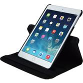 Artificial Leather Case for Apple iPad Mini 3 2 1 360° black + protective foils