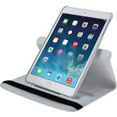 Artificial Leather Case for Apple iPad Mini 3 2 1 360° white + protective foils