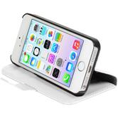 Artificial Leather Case for Apple iPhone 5 / 5s Premium white