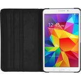 Artificial Leather Case for Samsung Galaxy Tab 4 8.0 360° black