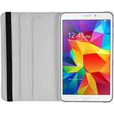 Artificial Leather Case for Samsung Galaxy Tab 4 8.0 360° white