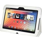 Artificial Leather Case for Google Nexus 10 Wallet white