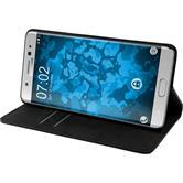 Kunst-Lederhülle Galaxy Note 7 Book-Case schwarz