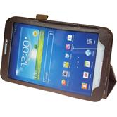 Artificial Leather Case for Samsung Galaxy Tab 3 8.0 Wallet blue