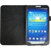 Artificial Leather Case for Samsung Galaxy Tab 3 8.0 Wallet black
