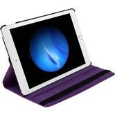 Kunst-Lederhülle iPad Pro 360° lila