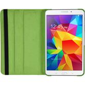 Kunst-Lederhülle Galaxy Tab 4 7.0 360° grün + 2 Schutzfolien