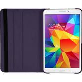 Kunst-Lederhülle Galaxy Tab 4 7.0 360° lila