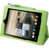 Artificial Leather Case for Acer Iconia A1-810 Premium green