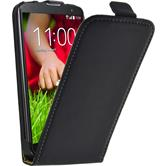 Artificial Leather Case for LG G2 mini Flipcase black