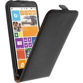 Artificial Leather Case for Nokia Lumia 1320 Flipcase black