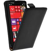 Artificial Leather Case for Nokia Lumia 930 Flipcase black