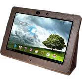 Artificial Leather Case for Asus Transformer Pad Infinity TF700 Wallet brown