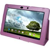Artificial Leather Case for Asus Transformer Pad Infinity TF700 Wallet purple
