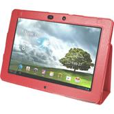Artificial Leather Case for Asus Transformer Pad Infinity TF700 Wallet red