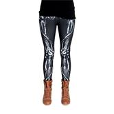 cosey - Printed colorful leggings (one size ) - Design bones