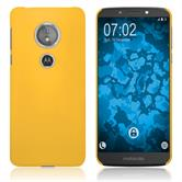 Hardcase Moto E5 (5th Gen) rubberized yellow Case