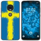 Motorola Moto G7 Plus Silicone Case WM Sweden M12