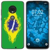Motorola Moto G7 Silicone Case WM Brazil M3