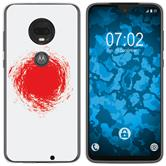 Motorola Moto G7 Silicone Case WM Japan M7
