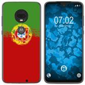 Motorola Moto G7 Plus Coque en Silicone WM Portugal M8