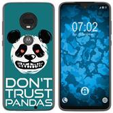 Motorola Moto G7 Plus Silikon-Hülle Crazy Animals  M2