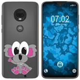 Motorola Moto G7 Plus Silicone Case Cutiemals M6
