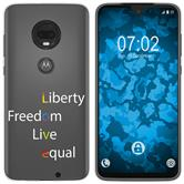 Motorola Moto G7 Silicone Case pride M2