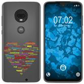 Motorola Moto G7 Plus Custodia in Silicone pride  M5