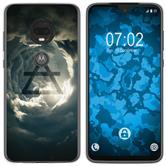 Motorola Moto G7 Silicone Case Element air M1