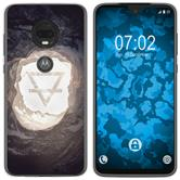 Motorola Moto G7 Silicone Case Element earth M2