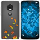 Motorola Moto G7 Plus Silicone Case autumn M1