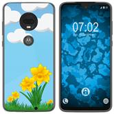 Motorola Moto G7 Silicone Case Easter M4