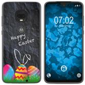 Motorola Moto G7 Silicone Case Easter M6