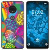 Motorola Moto G7 Plus Silicone Case Easter M3