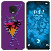 Motorola Moto G7 Silicone Case Retro Wave M3