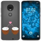 Motorola Moto G7 Silicone Case summer M3