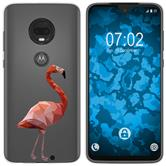 Motorola Moto G7 Silicone Case vector animals M2