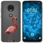 Motorola Moto G7 Plus Silicone Case vector animals M2